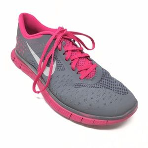 premium selection 44a41 796ec Women s Nike Free Run 4.0 v2 Running Shoes Sz 10M